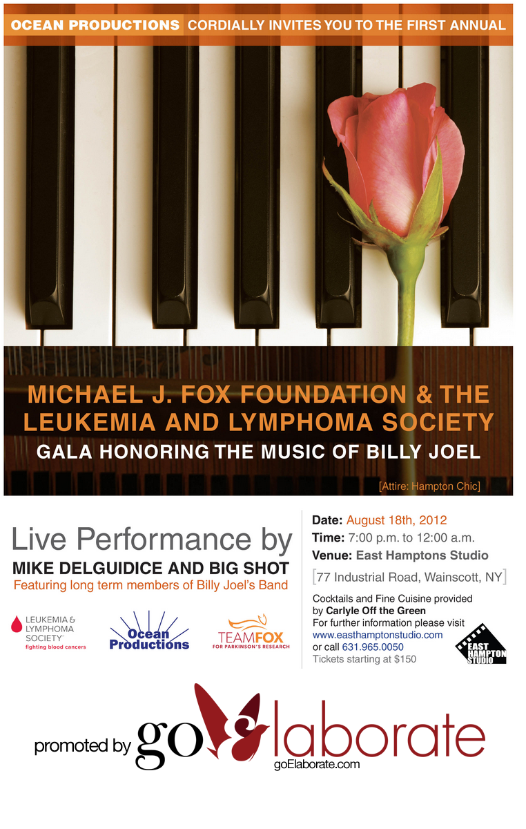 Michael J. Fox Foundation and The Leukemia and Lymphoma Society