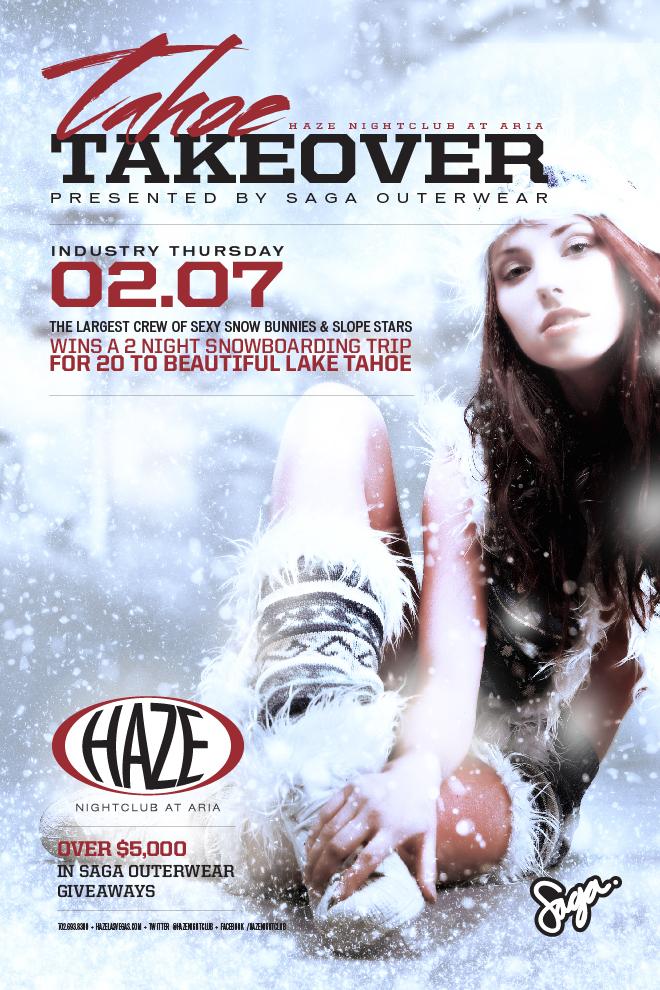 Tahoe Takeover in Las Vegas at HAZE Nightclub