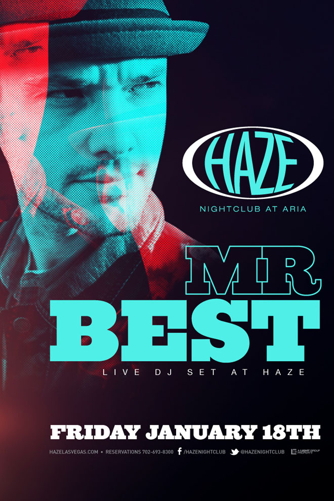 Mr. Best Guest DJ Set @ HAZE Nightclub in Las Vegas at ARIA Resort & Casino