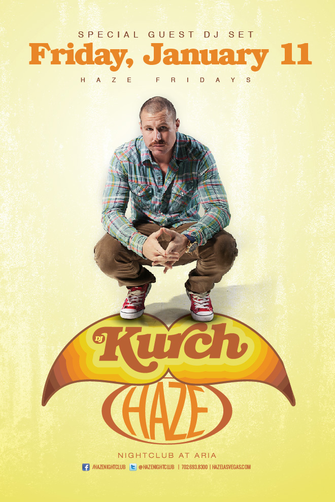 DJ Kurch Guest DJ Set at HAZE Nightclub in Las Vegas inside the Aria Resort & Casino