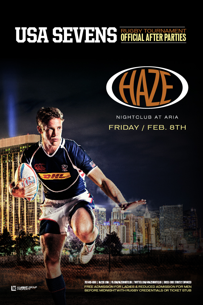 USA Sevens Rugby After Party in Vegas