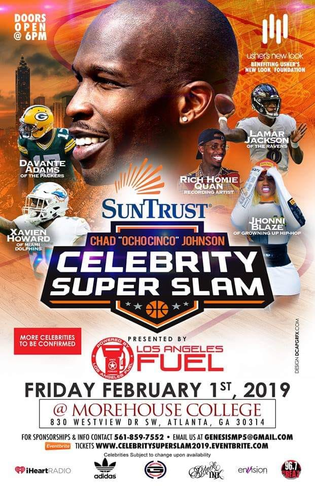 Celebrity SuperSlam2019