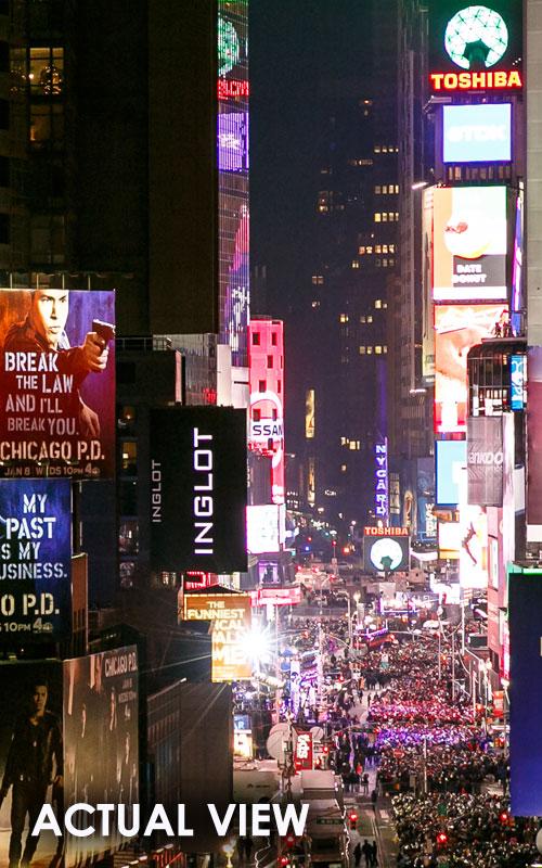 Times Square Ball Drop New York NYE Supernova