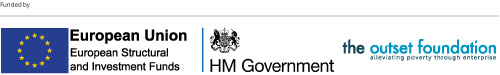 funded by ERDF HM Government and Outset Foundation