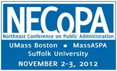 NECoPA Conference -  PUBLIC ADMINISTRATION IN A TIME OF...