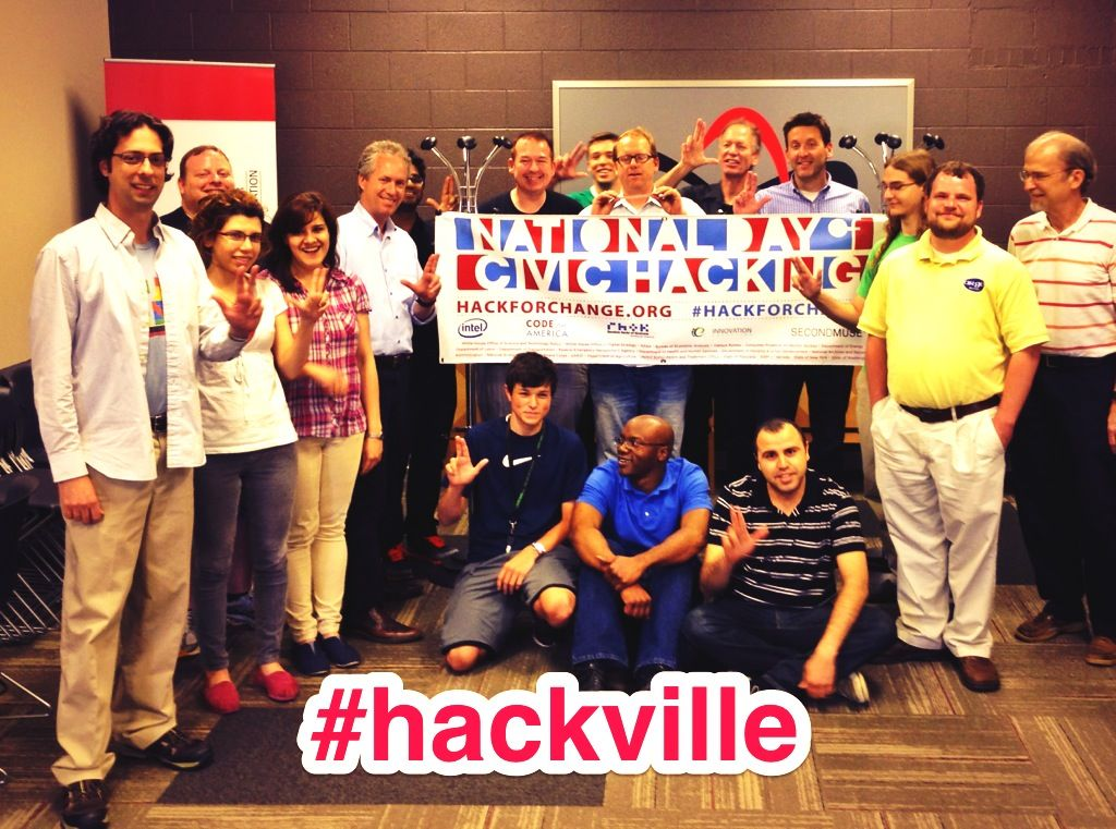 #hackville with Louisville Mayor