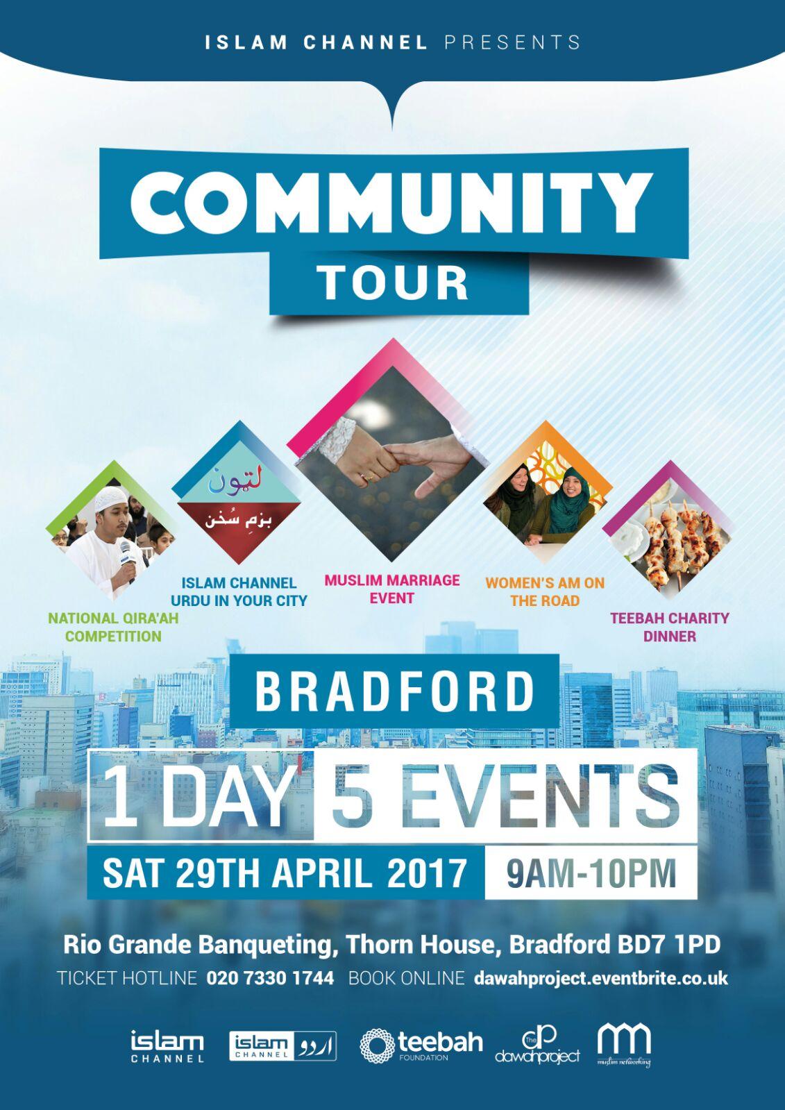 ISLAM CHANNEL COMMUNITY TOUR BRADFORD