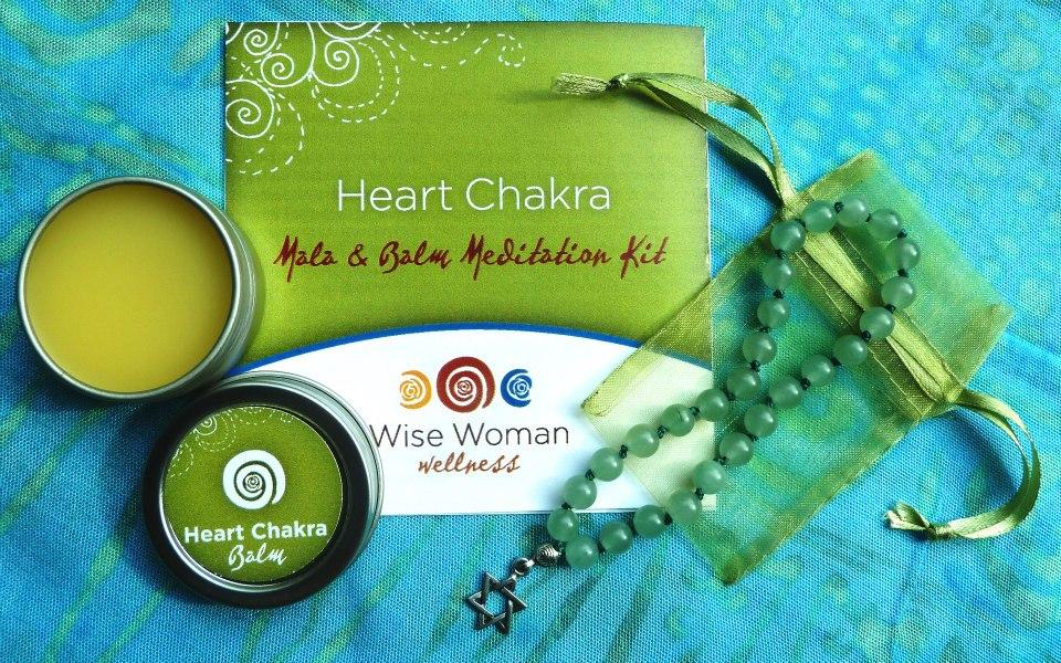 wise woman wellness heart chakra
