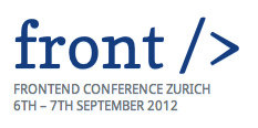 Front End Conference Zurich Logo