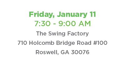 Coffee Connect January 11, 2019 @ The Swing Factory