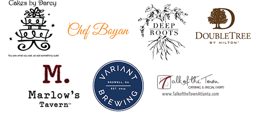 Cakes by Darcy, Chef Boyen, Deep Roots, The Double Tree, Marlow's Tavern, Variant and Talk of the Town