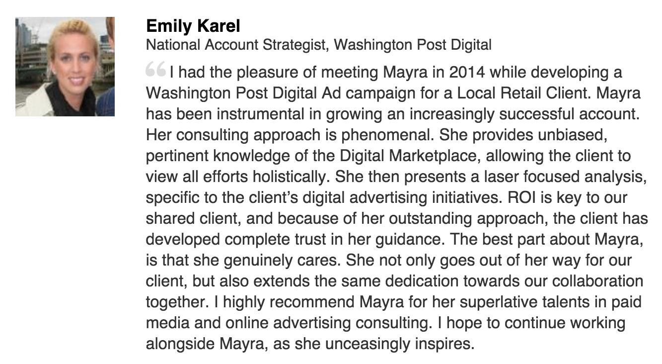 Testimonial from Washington Post Interactive
