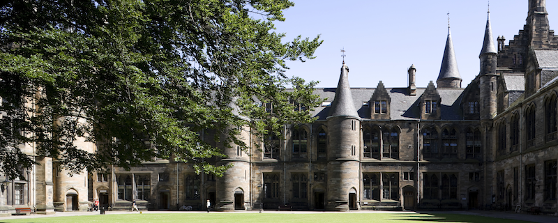 Image of East Quad in the sun