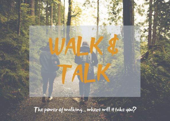 Walk & Talk poster