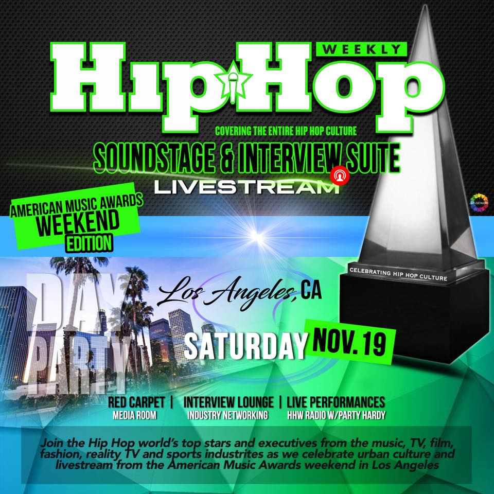 Hip Hop Weekly Soundstage & Interview Suite artwork