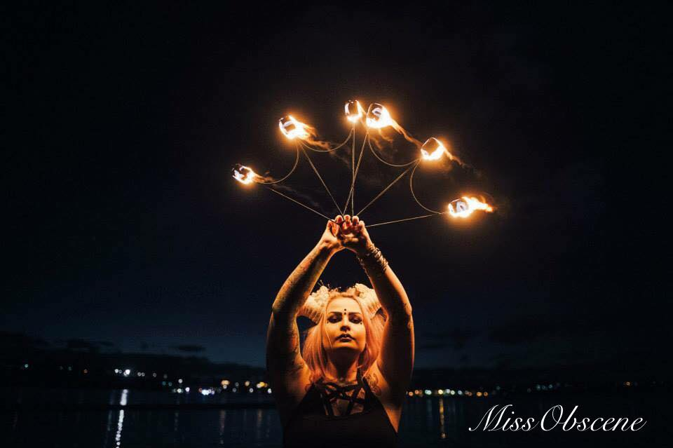 Miss Obscene Firetwirling