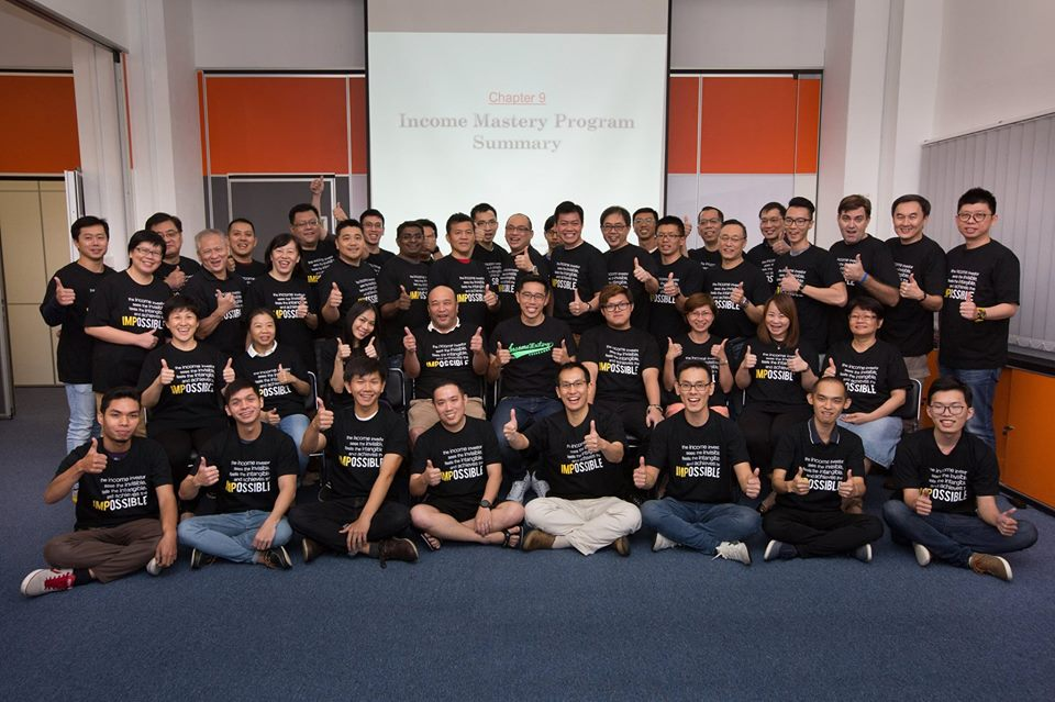 Terence Tan and the Income Mastery Programme