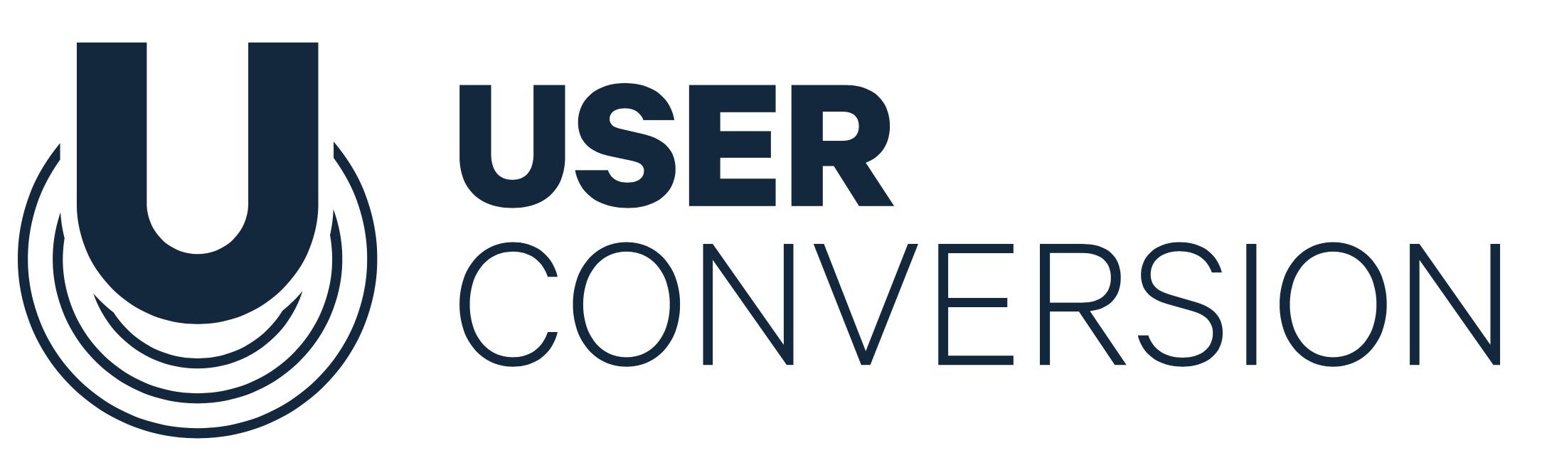 User conversion logo