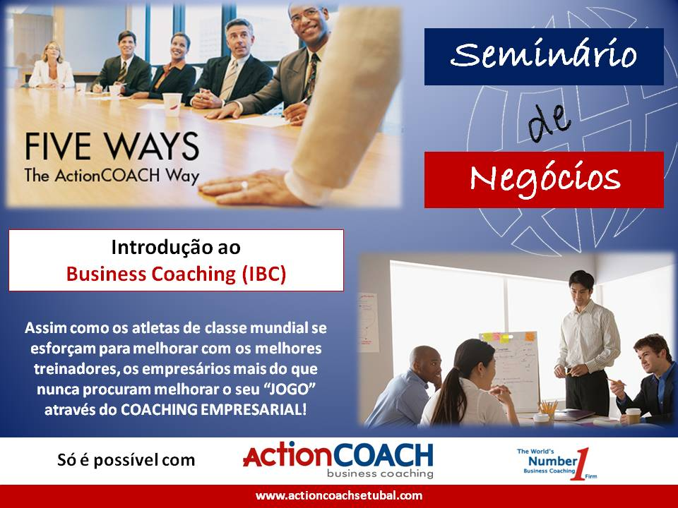 ActionCOACH - Introdução ao Business Coaching