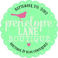 Penelope Lane Mini Blog Conference 2012