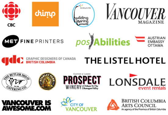 The Happy Show Partners, Sponsors & Funders