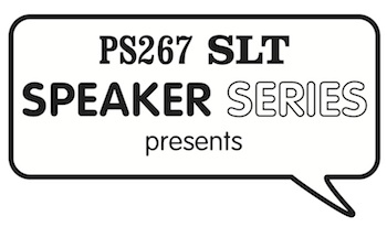 PS 267 SLT Speaker Series Logo