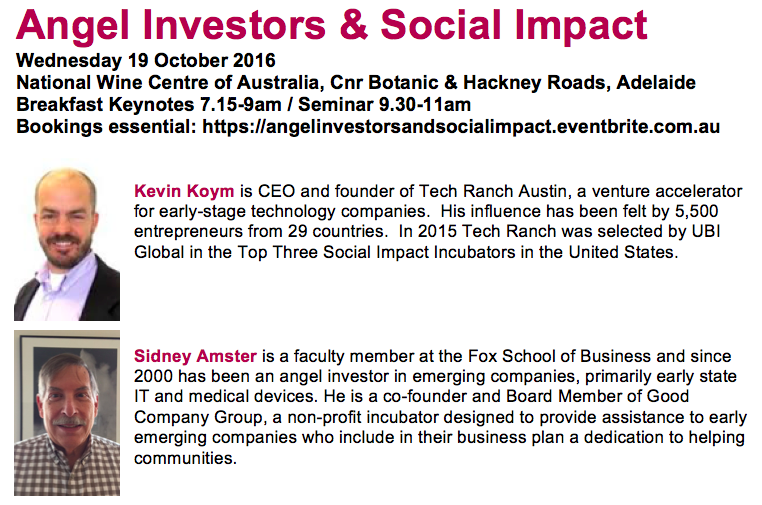 Angel Investors and Social Impact