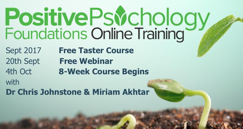 Positive Psychology Foundations Flyer