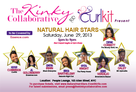 Natural Hair Stars - Natural Hair Event in New York