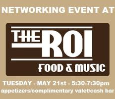 Networking at ROI (last event scheduled for the season)