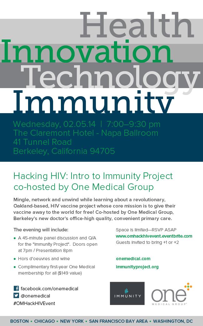 Immunity Project Invite