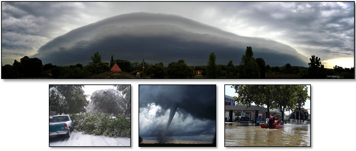Basic Weather Spotter Class Collage