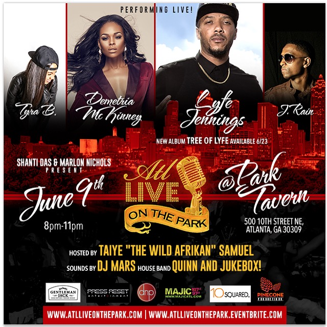 ATL Live on the Park June 2015