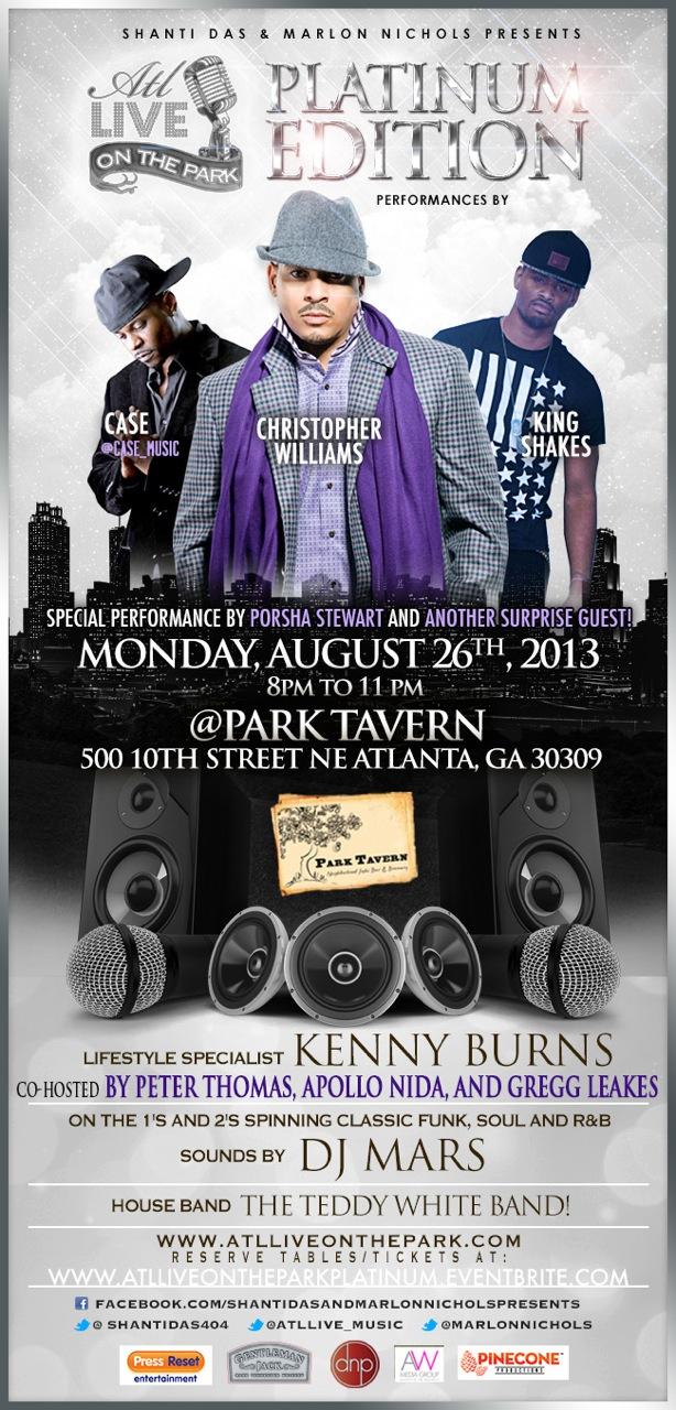ATL Live August Platinum