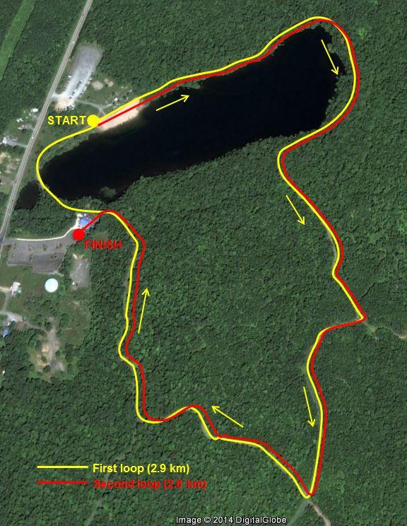 The Running Dead 2014 @ Killarney Lake Rotary Lodge | Fredericton | New Brunswick | Canada