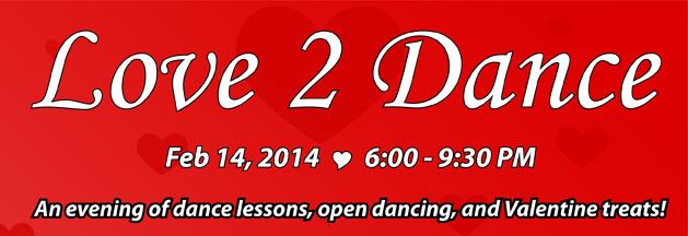 Love 2 Dance Banner 2
