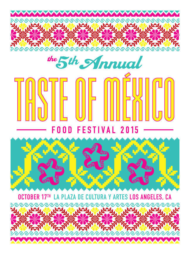 Taste of Mexico 2015 by Artist Ernesto Yerena