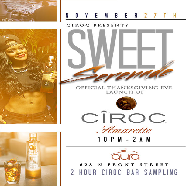 THANKSGIVING EVE SPECIAL CIROC EVENT!
