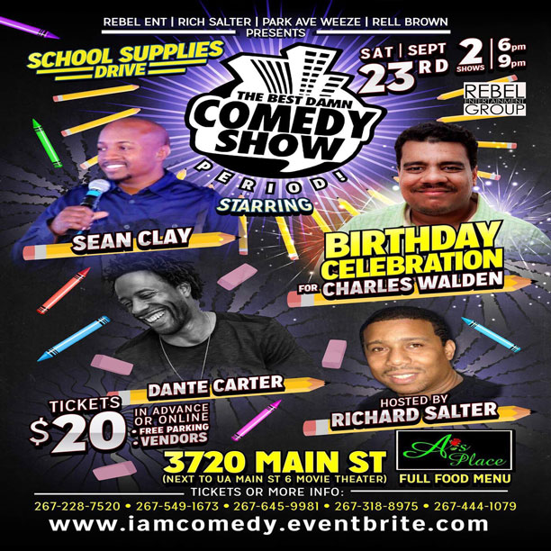 Philly's Hottest Dinner Comedy Show