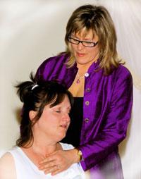 Rev. Kimberly gives Velma a Heart Activation