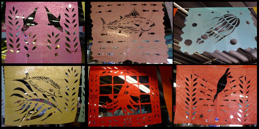 Papel picado by Julie Naylor