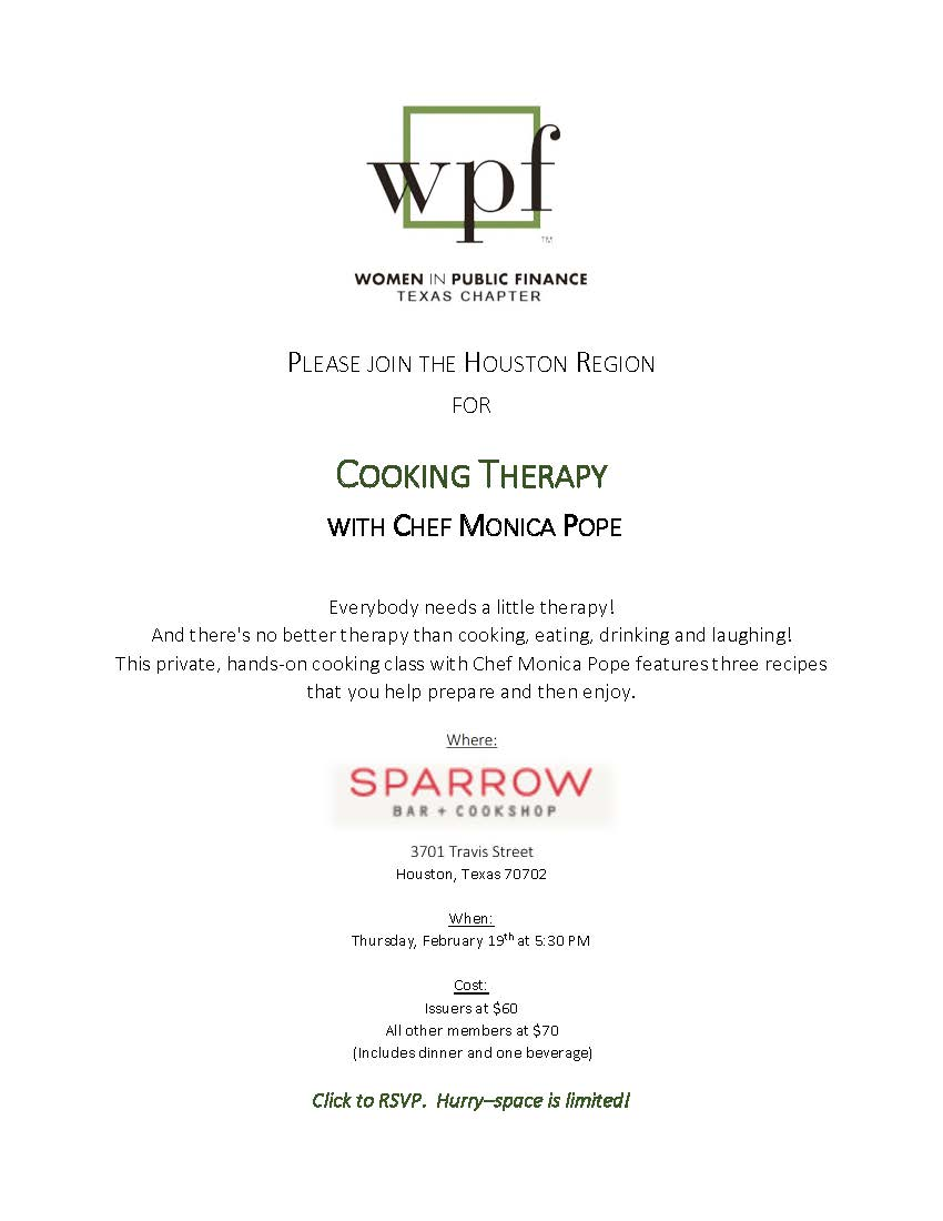 Cooking Therapy - Houston