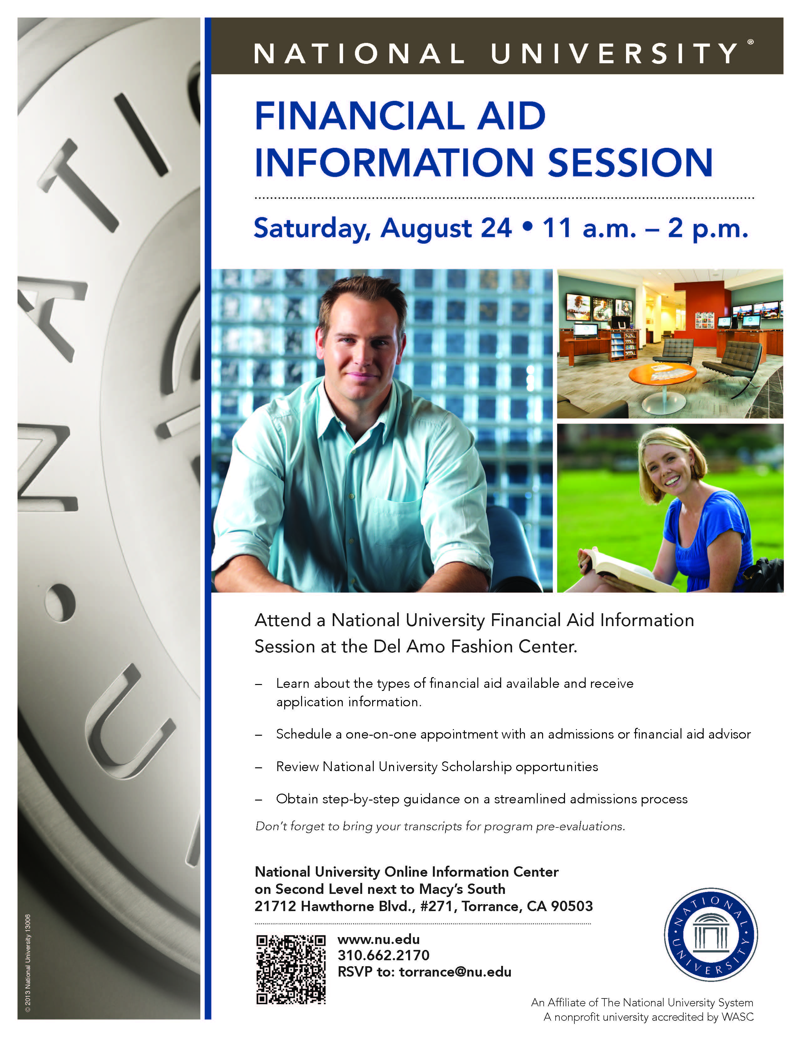National University Torrance Financial Aid Information Session