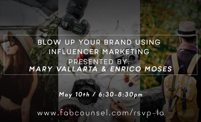 influencer marketing for fashion entrepreneurs and creatives