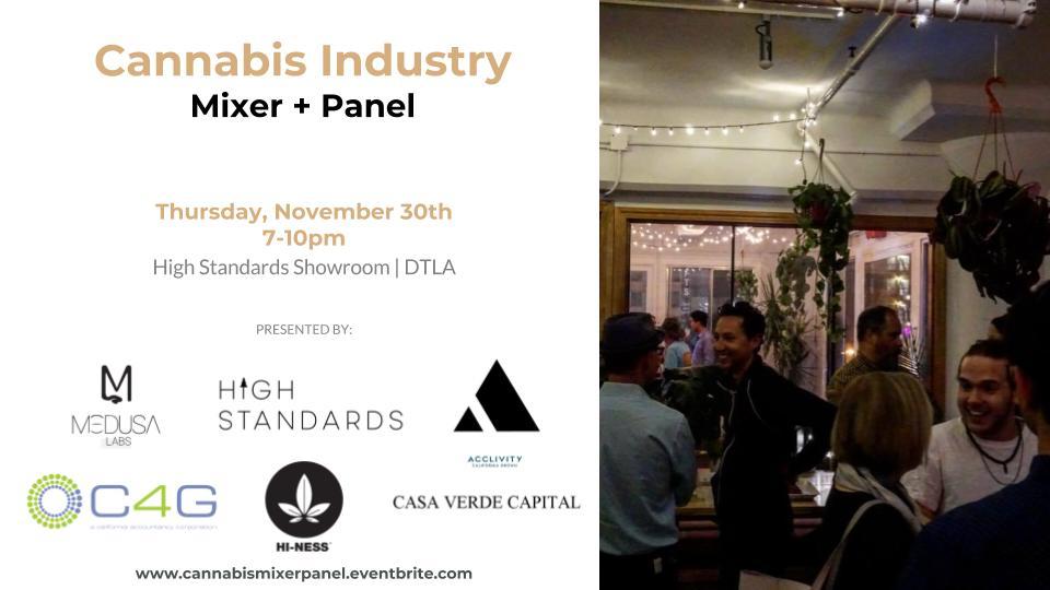 Cannabis Mixer + Panel