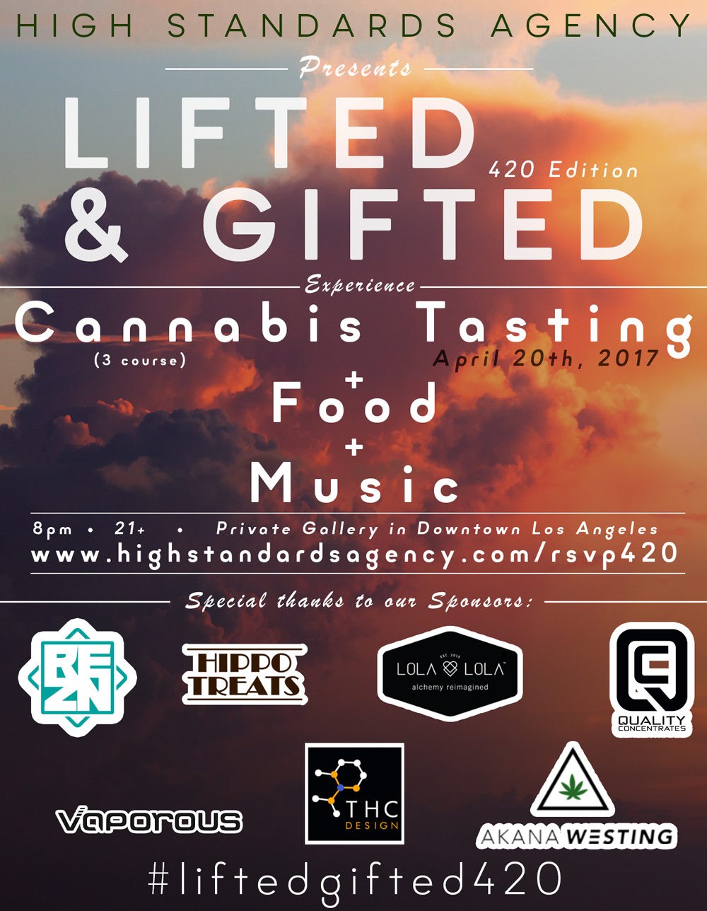 lifted and gifted 420 cannabis event DTLA 2017