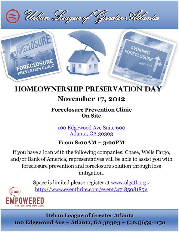 Homeownership Preservation
