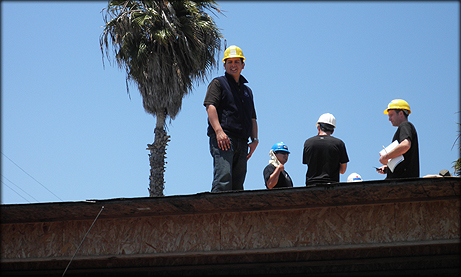 David Alvarez Assisting Grid Alternatives As They Install Rooftop Solar
