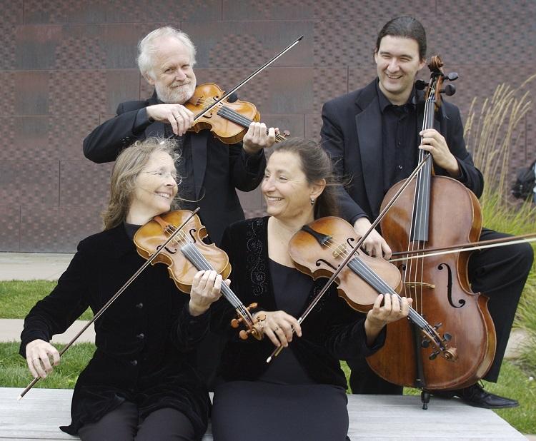 Amateur Music Network features mentors from New Esterhazy Quartet