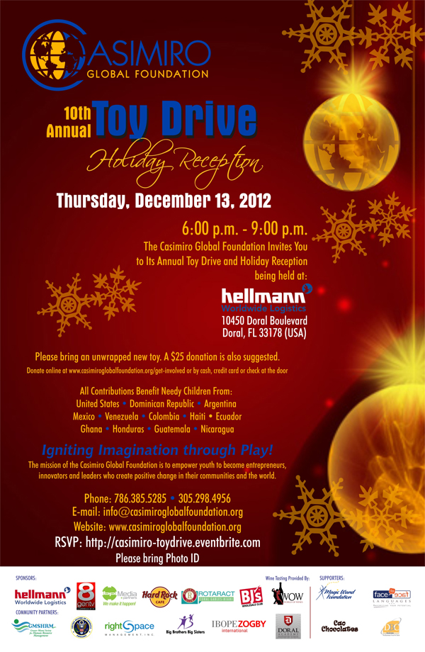 Toy Drive Flyer 2012